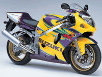 fairings - NEW TOP Injection ABS plastic motorcycle fairing Body kits for free gift Fairings For GSXR K1 Yellow Purple Kit
