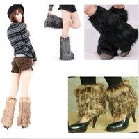ladies socks - 20pcs DHL cost Lady Boot Cuff Fluffy Soft Furry Tassels Fur Leg Warmers Boot Socks Cover DH04
