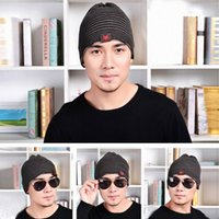 Wholesale Cool Women Men Knitted Beanie Skull Caps Warm Ski Sports Hats Outdoor Cuff Hip Hop Caps With Pentagram Decor Style Choose ENR