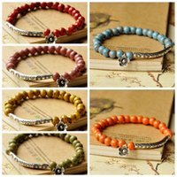 Wholesale new bohemian charming beaded bangle bracelet womens fashion jewelry