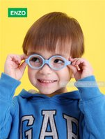 baby eyeglass frames - Baby Glasses Size mm No Screw Safe Bendable with Strap Fliexible Optical Children Frame Plano Lenses Kids Eyeglasses Cord
