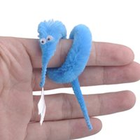 trick worms - 2015 Magicians Toy Baralho Mr fuzzy Magica Worm Magic Trick Twisty Plush Wiggle Stuffed Animals Street Toy For Kids Gift