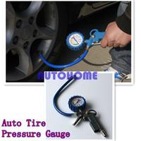 air compressor line - 1 X psi Car Van Truck Tyre Tire Air Line Inflator Dial Pressure Meter Gauge Compressor order lt no track