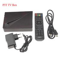 Wholesale P3T Quad Core Android KitKat Smart TV Box Mini PC GB Amlogic S805 CPU GB RAM p upports microSD card