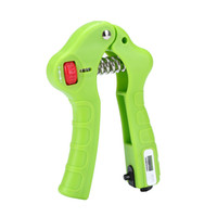 adjustable grip strengthener - Hand Grip Strengthener Exerciser Mechanical Counting Easy Adjustable Gripper Weights For Exercise Equipment Finger Grips Strengthening SU