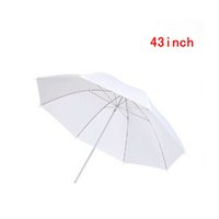 Wholesale Holesale New inch Photo Studio Photography Video Continuous Lamp Light White Soft translucent Umbrella