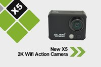Wholesale X5 K Wifi Action Support Camera M Waterproof Camara With APP Share and Support Aerial Photography Degree Lens Angle