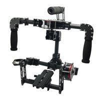 Wholesale 3 Axis Handle DSLR Carbon Fiber Brushless Gimbal Handle Camera Mount for Photography A Series