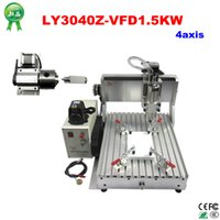 Wholesale High quality LYCNC3040Z VFD1 KW axis desktop cnc router working area mm