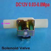 Wholesale DC V Straight Electric Solenoid Valve Water Air Flow Switch quot