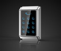 Wholesale New Arrival Elegant Design Metal Case Anti vandal KHz RFID and PIN Access Control Keypad with Touch Keyboard