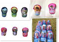Wholesale 20pcs frozen TMNT doctora sofia hat childrens cartoon ball cap kids baseball cap sun hat beanie hat baseball hat for boy girl D187