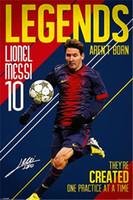 barcelona sticker - Legends Of Barcelona Classical Custom Fashion Movie Comic Poster Printed Size x75 cm Wall Sticker