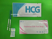 pregnancy test - CE FDA ISO Certifications High Sensitivity mIU ml One Step Pregnancy Test Strip Ovulation Test Strip