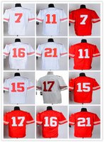 black 49ers jersey - ers A series of American Football Jerseys White red black Man Rugby Stitched Jersey On Mix Order
