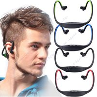 Wholesale New Sports Wireless Bluetooth Stereo Headset Headphone Earphone for Cell Phone Iphone Laptop Pc SV005072