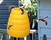 bee catcher - new bee catchers bee trap Bee Wasp Yellow Jacket Hornet BeeHive Trap Catcher Trapper Table or Hang