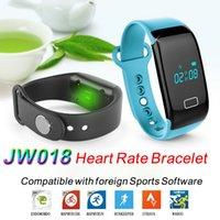 Wholesale Heart Rate JW018 Smart Watch Touch Bracelet Bluetooth P2016 JW018 BT4 Smart Band Bracelet Heart Rate Monitor Activity Fitness Tracker Wris