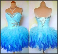 Cheap Mini Party Dresses Best Chiffon Homecoming Dress