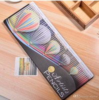 Wholesale Professional Wooden Colored Artists Pencils Drawing Watercolor Metallic Charcoal for Adults Premium Set of Pencil Art Tin Box
