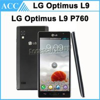 Wholesale Original Refurbished LG Optimus L9 P760 inch Dual Core GB RAM GB ROM MP Camera GPS WCDMA G Android Smart Mobile Cell Phone