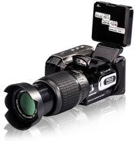 Wholesale hd9100 wide angle telephoto len belt remote control hd digital video camera