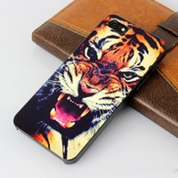 animals hard plastic - For iPhone G S Animal Series tiger leopard wolf Hound Case D stereo PC plastics Hard case for iPhone G S back cover