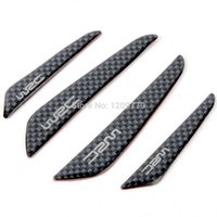 Wholesale Hot sale New Carbon Fiber Car Door Anti rub Anticollision Bumper Strip Rub Strip G0195 W0