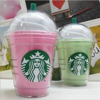 Wholesale Starbucks power bank mAh portable charger For iphone plus External backup battery with Package