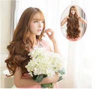 Wholesale 5 clips curly hair extension women long ponytail extension female synthetic hair in clip extensions colors