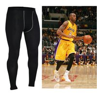 Wholesale Sports tight trousers men s basketball quick drying compression pants running fitness factory outlet