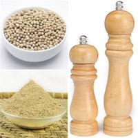 Wholesale High Quality Wood Wooden Pepper Sauce Spice Salt Corn Seed Mill Grinder Muller Kitchen Tool