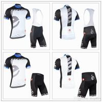 Cheap Top sales 2016 Cervelo Cycling Jerseys Tour De France White Bike Wear Short Sleeves Bib  None Bib shorts Quick Dry XS-4XL