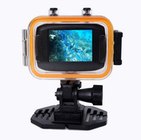 Wholesale FHD P Action Camera Waterproof Sports DV Wide Angle Outdoor Camcorder Touch Panel Digital Video Camera