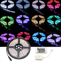 smd strip - Cheap new M Flexible RGB LED Light Strip ft SMD M LEDs WATERPROOF IR REMOTE Controller