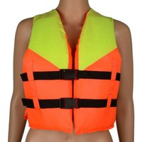 Wholesale Life Jacket Newest Youth Kids Universal Polyester Life Jacket Foam Flotation Swimming Boating Ski Vest Safety Product