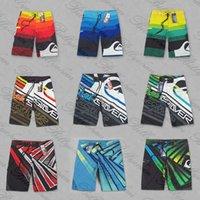 Wholesale High Quality Mens beach pants Swimming Shorts Mens Surf Board Shorts Quick Dry Silver swim Trunks Mens Swimwear D231
