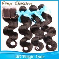 Cheap Brazilian hair closure Best Human Hair extensions