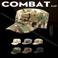 army camouflage hats - US Military Caps ACU Desert Woodland Digital Multicam Army Soldier Camouflage Patrol Hats Fishing Tactical Combat Paintball Caps