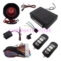 Remote Car Starters alarm stage - Universal Car Alarm System One Way L Two Stage Siren Verification And Auto Central Door Lock Suitable For All Kinds Of Cars