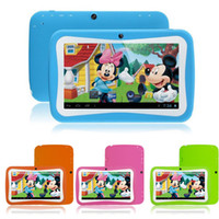 Wholesale Cheap quot Kids Tablet PC Andriod G Quad Core Educational Tablet for Children with G Sensor Wifi Dual Camera