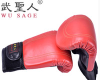 Wholesale New Brand Boxing Gloves Semi Finger Fighting Sandbag Gloves PU Leather MMA Gloves Boxe Free Combat Taekwondo Glove