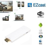 Wholesale Full HD p Wireless HDMI Adapter Miracast Dongle Ezmirror DLNA Airplay Real Time Display Function Wifi Receiver Compatible Android OS IOS