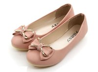 black heel bow - Hot sale New Fashion Spring Women Flats Shoes Ladies Bow Square Toe Slip On Flat Women s Shoes size