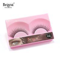 beautiful thick hair - BEIGEAI Beautiful Eyelashes pair Thick Beauty Supplies Eyelashes Individual False Eyelashes Include Glue For Lashes
