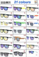 achat en gros de lunettes de soleil polarisées barre-Expédition 2015 New Style KEN BLOCK HELM Marque Cyclisme Sports de plein air Hommes Femmes optique lunettes de soleil polarisées DHL gratuit 21 couleurs AAAA + qualité