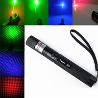 adjustable focus red laser pointer - High Power Laser Pointers Adjustable Focus Burning Match Lazer Pen Green Red Blue Violet Safe Key Free Battery e Charger