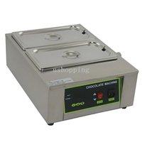 Wholesale 8KG Stainless Steel Chocolate Melting Machine Machine Lattice Top Quality Max Melt KG Chocolate