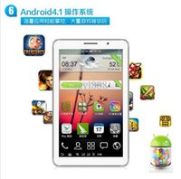 Cheap 9 inch P2000 Android 4.1 Phablet MTK6515 1.2GHz Dual SIM Dual Band WVGA Screen WiFi - Black