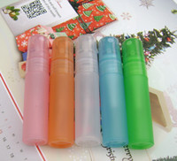 ship spray bottles - Fedex DHL Colorful ml Plastic Spray Perfume Bottle Refillable Bottles With Spray Pump